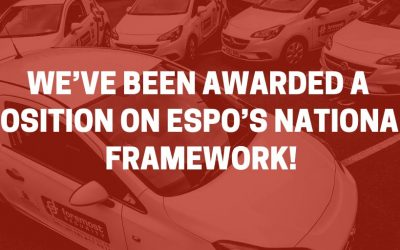 We've been awarded a position on ESPO's national framework!