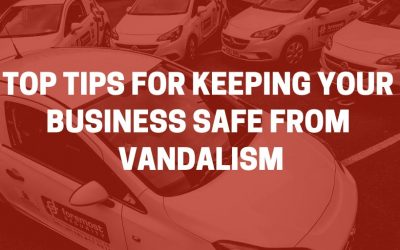 Top tips for keeping your business safe from vandalism