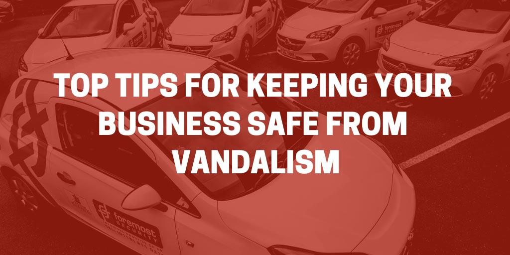 safe from vandalism