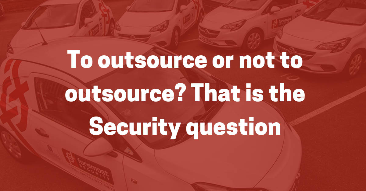 Outsourcing Premises Security