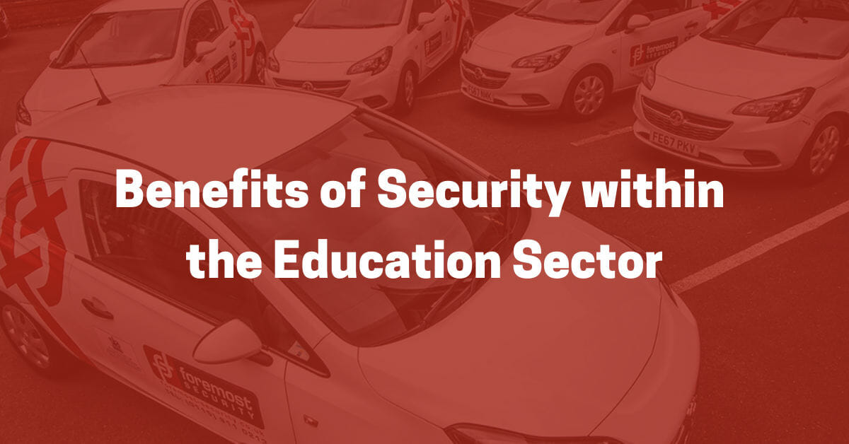 Security in the Education Sector