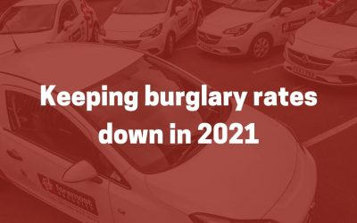 Keeping burglary rates down in 2021