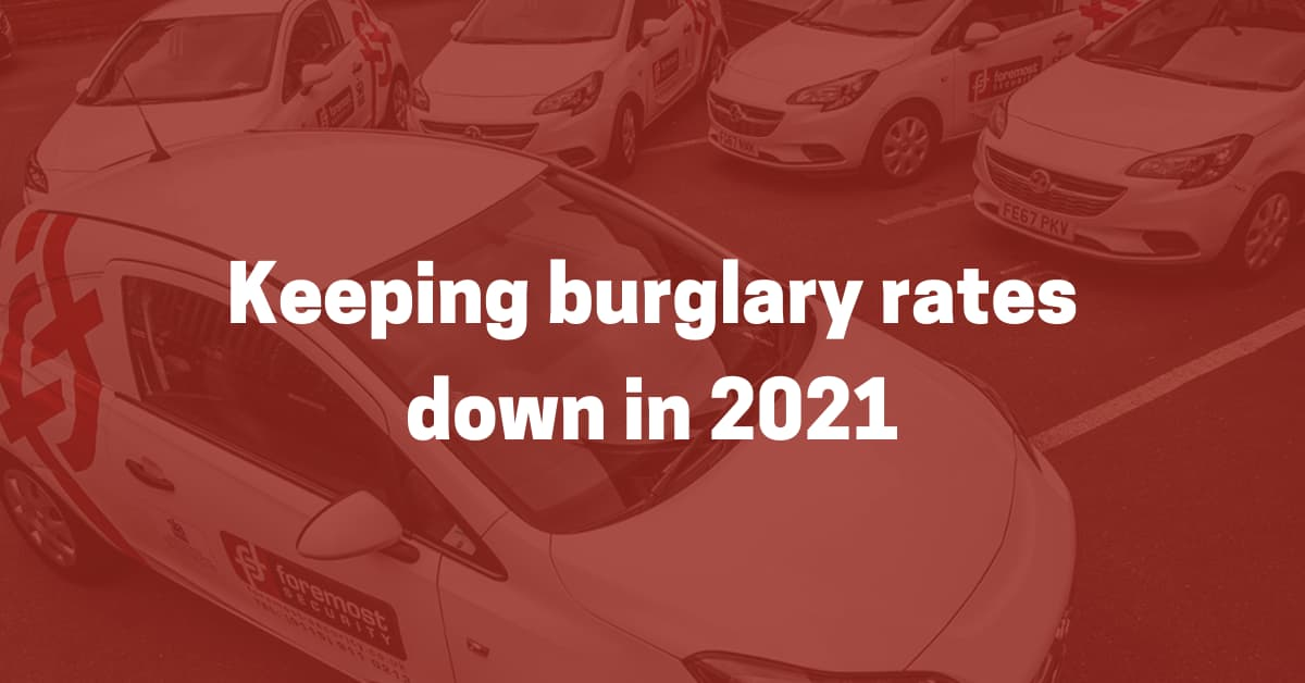 keeping burglary rates down