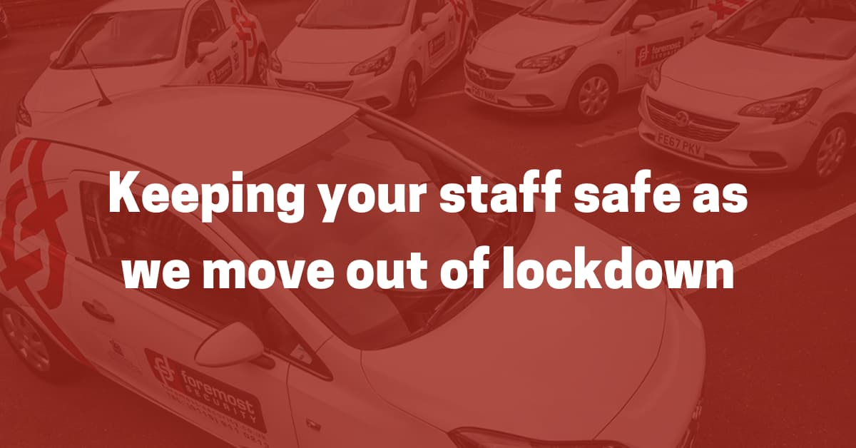 Keeping your staff safe