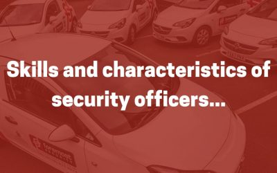 Skills and characteristics of security officers