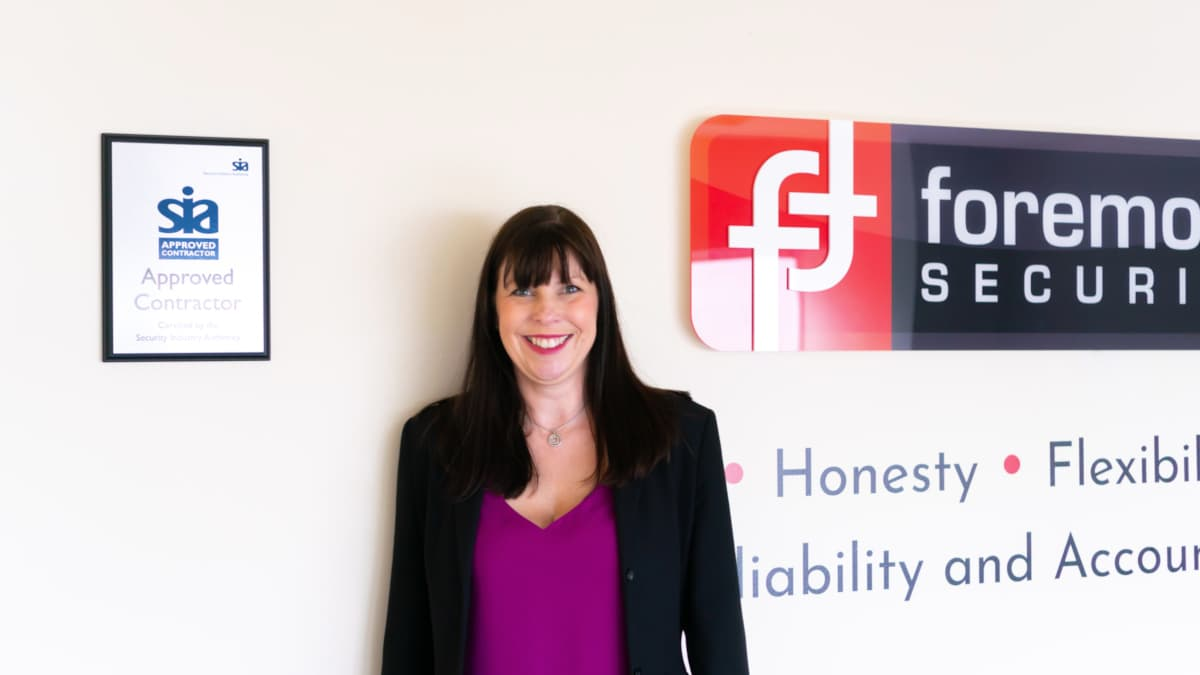 Carla at Foremost Security