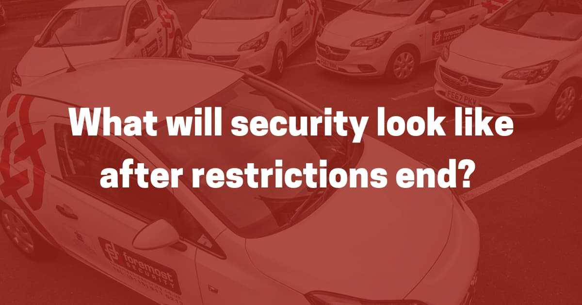 Security after restrictions