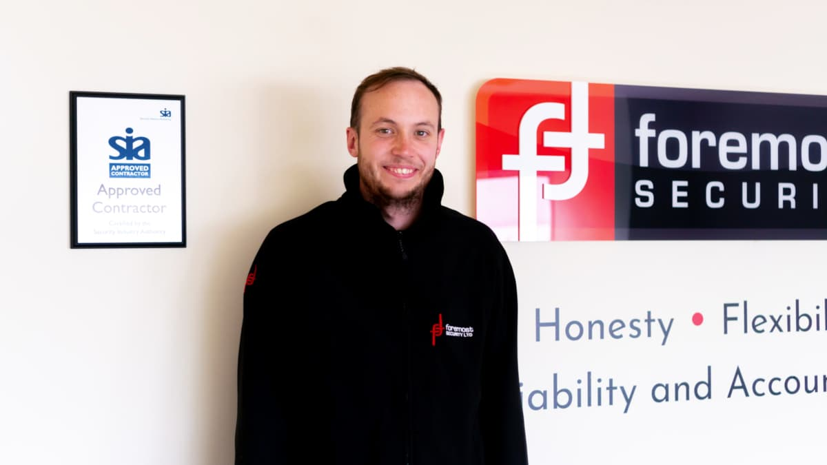 Hamish at Foremost Security
