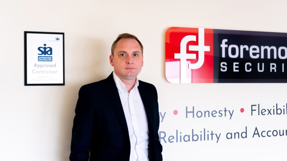 James Vincent at Foremost Security