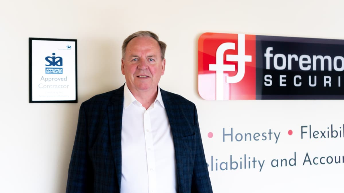 Paul Ritchie at Foremost Security