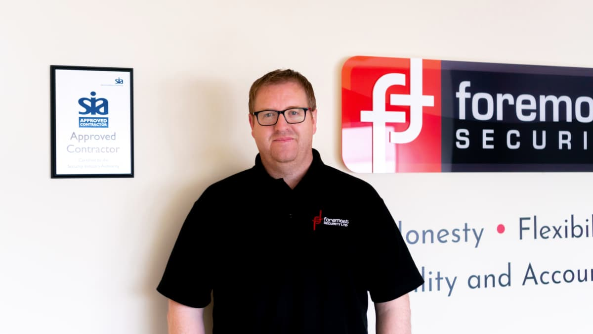 Rob at Foremost Security